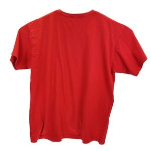 Hurley Shirts - Hurley Graphic Logo T Shirt Men's Size XL Red